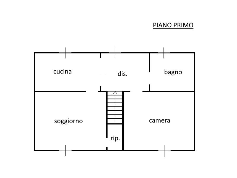 planimetria - Immobiliare Galanti